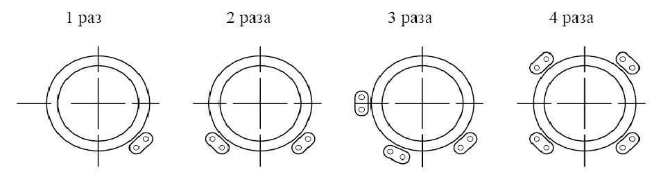 Varianty kreplenia kabela